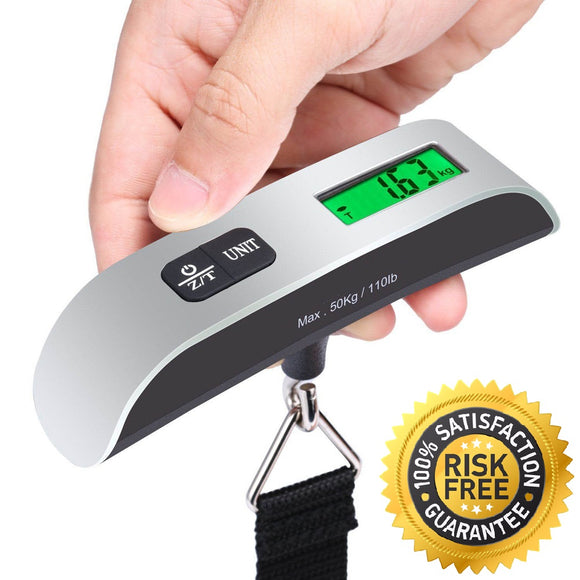 Ergonomic Digital LCD Luggage Scale