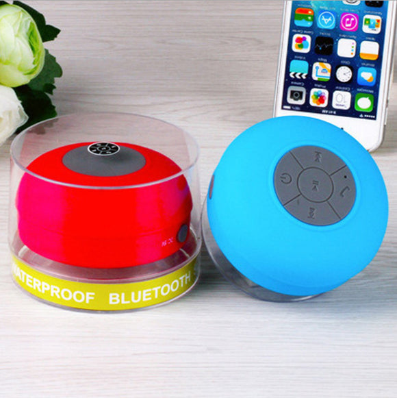 Mini Shower Waterproof Bluetooth Speaker