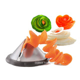 Amazing Kitchen Vegetable Spiralizer Slicer Tool!