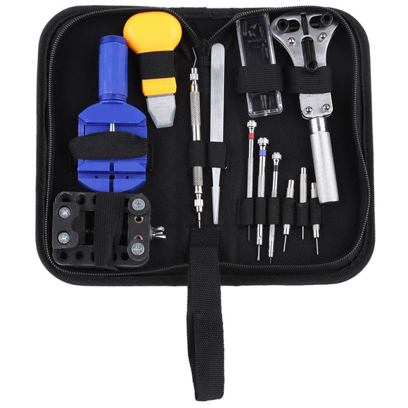 13 Piece High Quality Watch & Eyeglass Repair Tool Kit