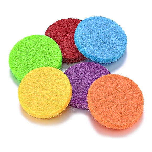 Car Vent Diffuser Pads (Pkg of 10 - Choose From 15 Colors)