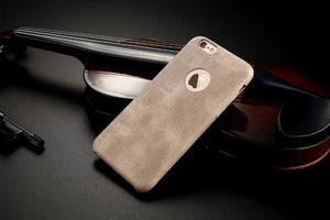 High-Quality Classic Synthetic Leather Case For iPhones