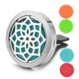 Essential Oils Scent Diffuser Clip With 4 Pads
