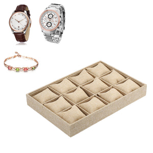 12 Slot Pillow Style Jewelry Watch And Bracelet Display - FREE SHIPPING!