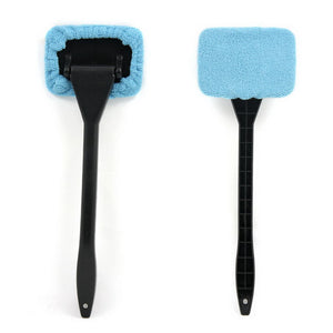 Microfiber Auto Window Cleaner With Long Handle