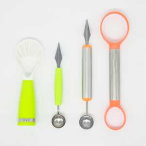 4 Piece Creative Fruit Carving Knife and Tools