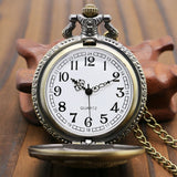 """Set-The-Hook"" - Antique Style Pocket Watch"