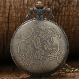 """Big Rig"" Antique Style Pocket Watch"