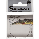Spinwal Wolfram Leader Swivel+Snap 2pcs