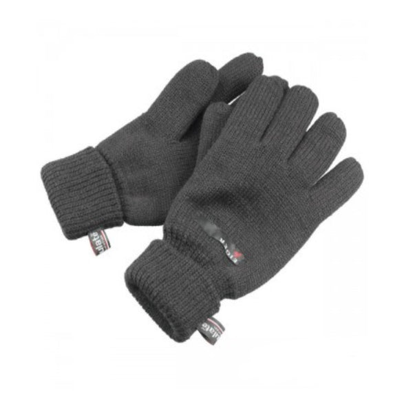 Eiger Knitted Gloves Thinsulate | Black | M