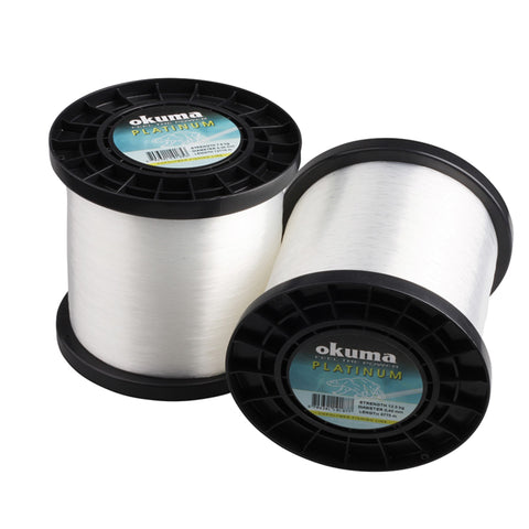 Okuma 1kg Platinum Clear Line | Various Sizes