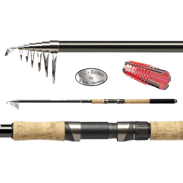 DAM Backbone TELE Fishing Rod