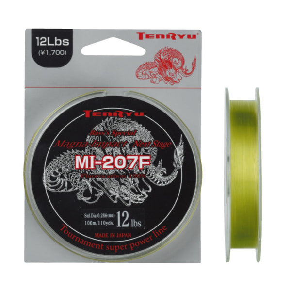 Tenryu Fluorocarbon MI-207F Series Fishing Lines | 100m | 0.165 - 0.234mm | 1.8 - 3.6kg
