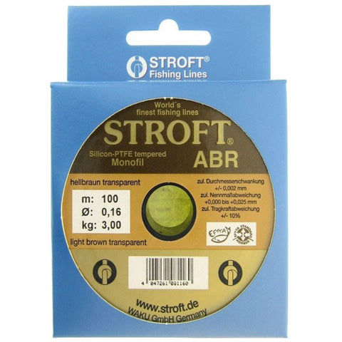 STROFT® ABR Monofilament Nylon Fishing Line | 130m | 0.10 - 0.30mm | 1.40 - 8.00kg