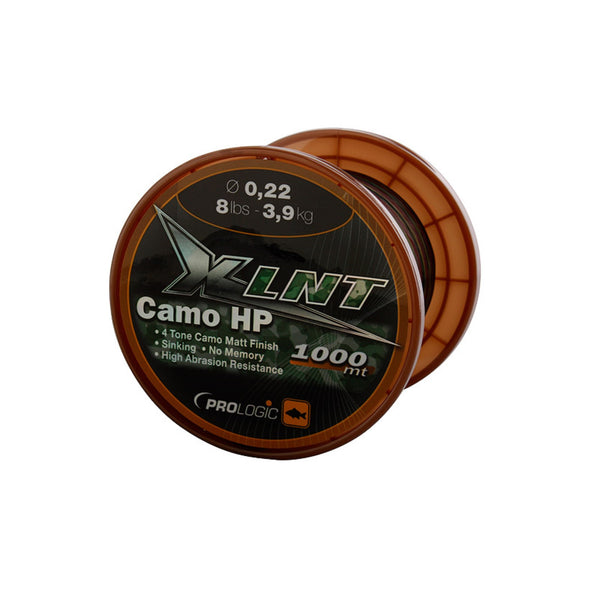 Prologic  XLNT HP Camo Line | 1000m | 0.22 - 0.33mm |  3.9 - 7.4kg