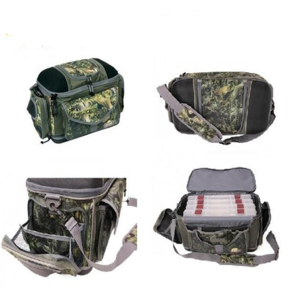 Plano Fishouflage Bass Fishermer Bag | 55x34x44cm