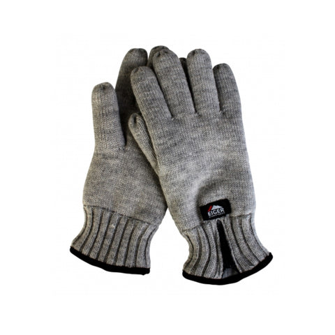 Eiger Knitted Glove W/Zipper Melange | S | M | L | XL