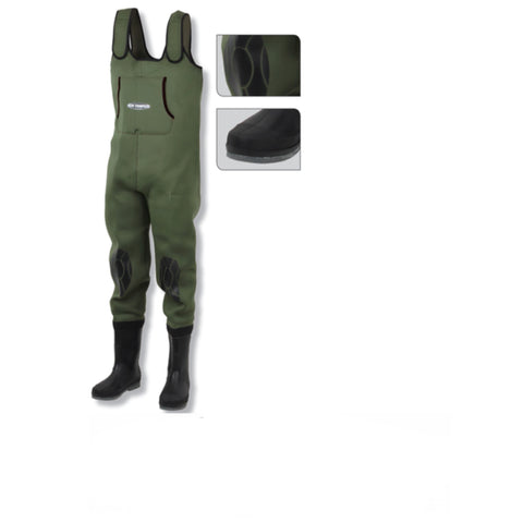 Ron Thompson SVALBARD 4mm Thick Neoprene Chest Waders Cleated Sole | All Sizes