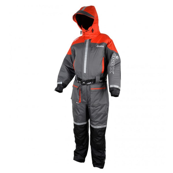 Imax Ocean Floatation Suit Grey/Red | 1pcs | S - XXXL | Various Sizes