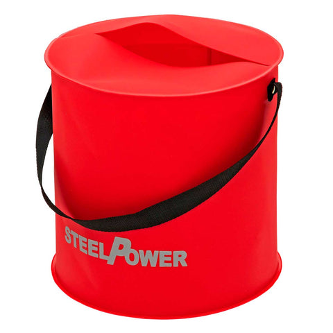 DAM Steelpower Fold Fish/Bait Bucket | 24x25cm