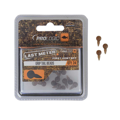 Prologic LM Mimicry Grip Tail Beads | 24pcs