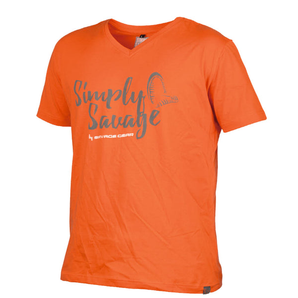 Simply Savage V-Neck Tee | S - XXL