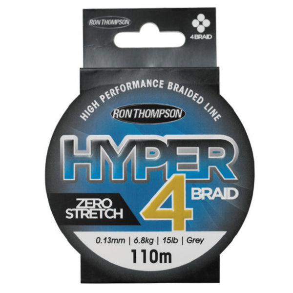 Ron Thompson Hyper 4-Braid & 8-Braid 110m | 0.13mm-0.20mm | 6.8kg - 12.6kg