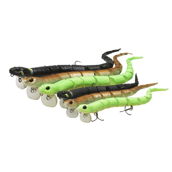 Savage Gear Real Ell Lure 20-30cm 38-80g Various Colours