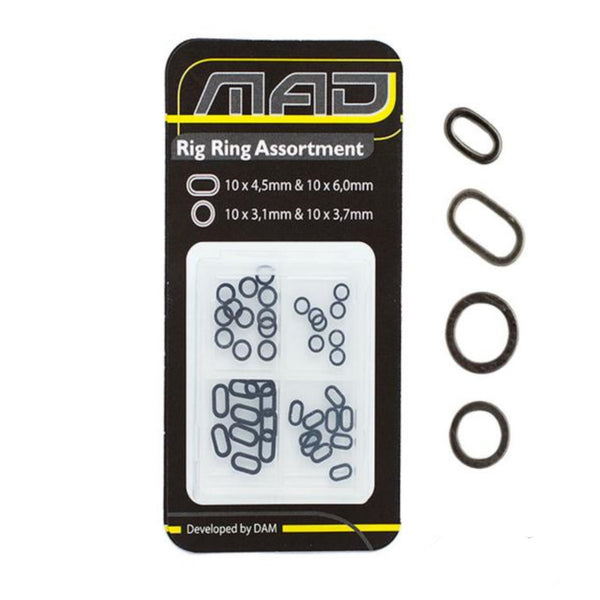 MAD Rig Ring Assortment | 4 Type x10pcs