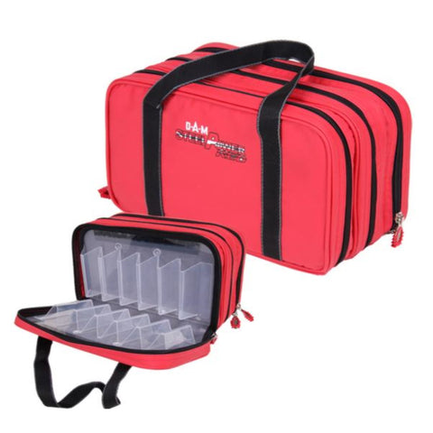 DAM SteelPower Red Lure Case | 58x29x37cm