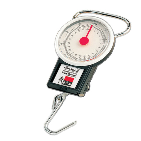 DAM Fish Scale Measuring Tape | 22kg | 1m