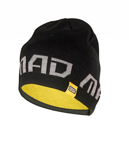MAD Knitted Beanie With Fleece