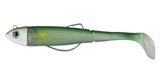 DAM Effzett Kick-s Minnow Weedless Paddle Tail Lure | 9 - 18cm | 12 - 55g | Various Colours