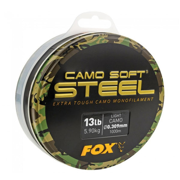 FOX Edges Soft Steel Light Camo Line 1000m | 0.35mm |  8.18kg