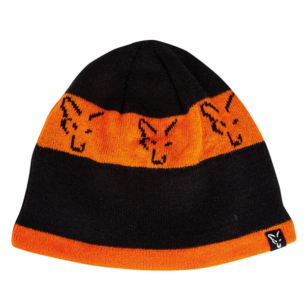 FOX Green / silver | black / orange beanie