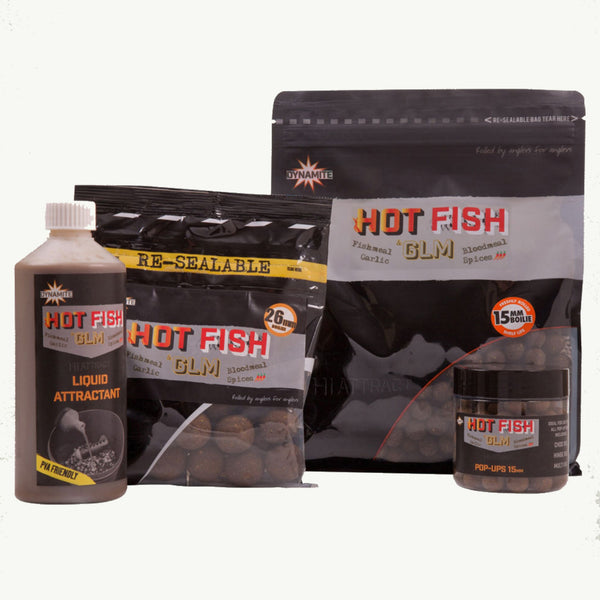 Dynamite Hot Fish & GLM Boilies