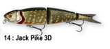 Savage Gear 4Play Swim & Jerk Lure | 9.5 - 19cm | 9.0 - 52g | Various Colours