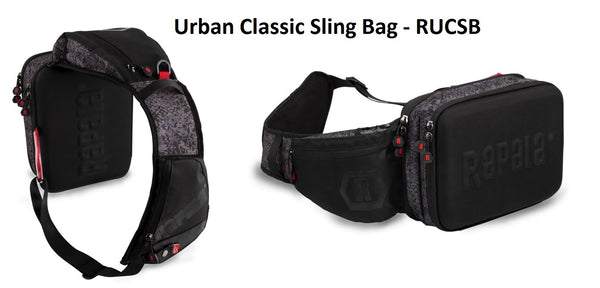 Rapala Urban Series - BackPack- Sling Back- Vest Pack- Hip Pack- Messenger Bag