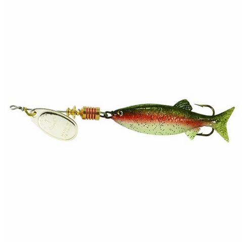 Mepps Comet Rainbow Mino Lure | 7g | Rainbow Colour