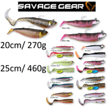 Savage Gear Cutbait Herring Saltwater Soft Lure | 20cm & 25cm | 270g & 460g | Various Colours