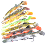 Savage Gear The 3D Hybrid Pike Lure | 17 - 25cm | 45g - 130g | Various Colours