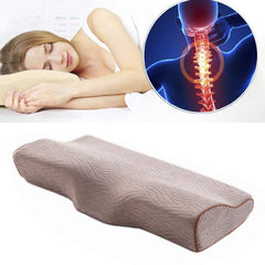 Memory Foam Orthopedic Pillows for Neck Pain, Snoring and Salon Use - Art on your Pillow