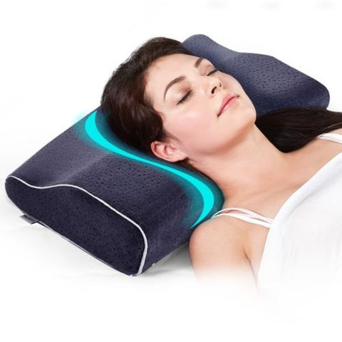 Orthopedic Memory Foam Neck Support Pillow Save Your Neck and Stop Snoring - Art on your Pillow