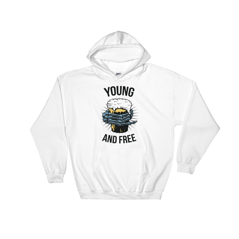 """Young and Free"" Hooded Sweatshirt"