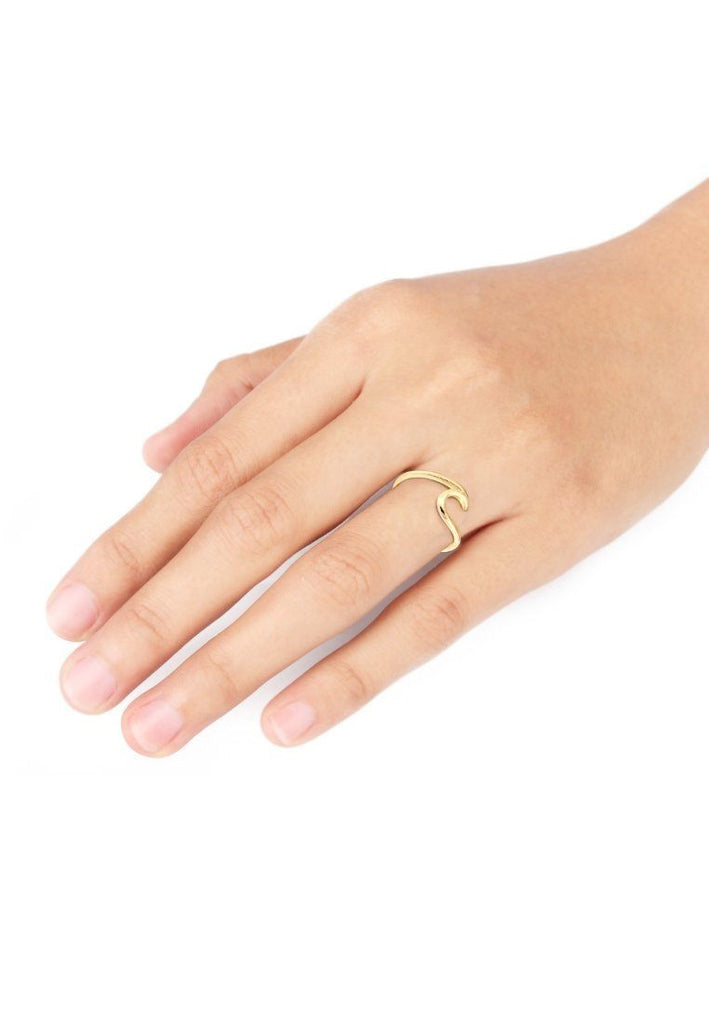 Ring - WAVE RING - GOLD