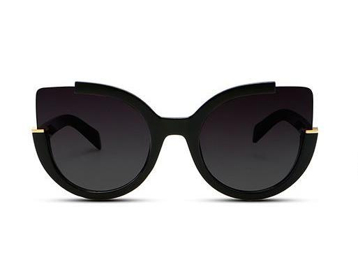 Sunglasses - ZOÉ - BLACK / BLACK