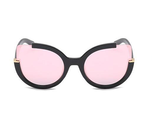 Sunglasses - ZOÉ - BLACK / ROSEGOLD