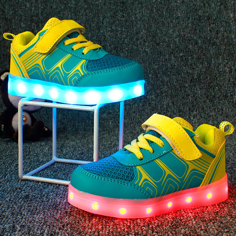 Children Shoes Light Led luminous Shoes