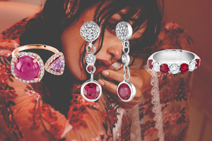 ruby rings, ruby earrings, ruby necklace