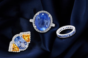 LUXE jewelries at OGI - a cut above the rest. Sophistication. Perfect diamond, sapphire pieces. Find more at ogi-ltd.com